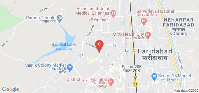 The Lalit Suri Hospitality School, Badkhal Pali Rd, Pocket B, Sanjay Gandhi Memorial Nagar, Sector 48, Faridabad, Haryana, India