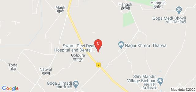 Swami Devi Dyal Hospital and Dental College, Golpura, Haryana, India