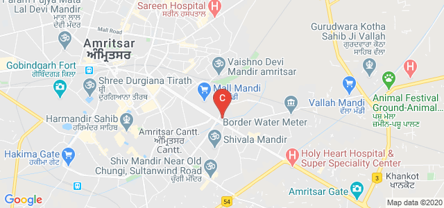 Sri Guru Ram Das Institute of Dental Sciences & Research, 100 Feet Road, Golden Avenue, Amritsar, Punjab, India