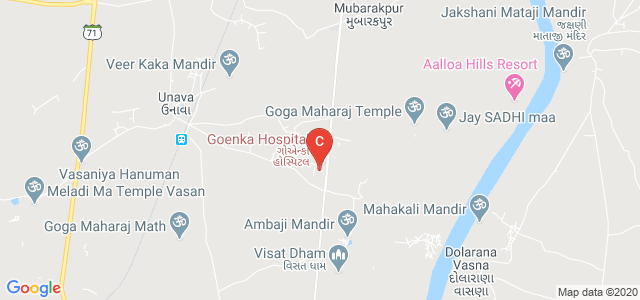 Goenka Research Institute of Dental Science, Piplaj, Gandhinagar, Gujarat, India