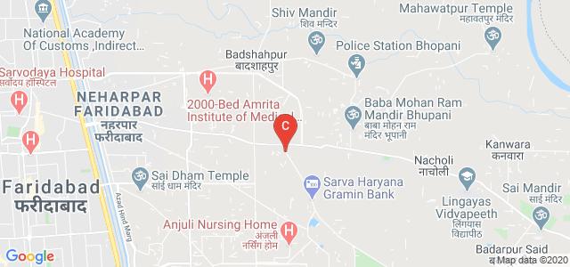 Sudha Rustagi College of Dental Sciences & Research, Piyush Heights, Sector 89, Faridabad, Haryana, India