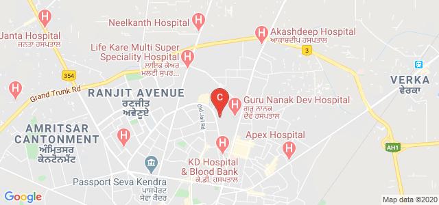 Government Nursing College, Medical Enclave, Amritsar, Punjab, India