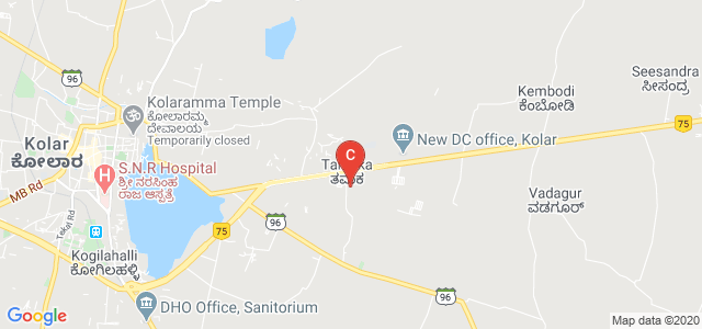 Sri Devaraj Urs College of Nursing, Tamaka, Kolar, Karnataka, India