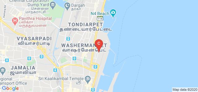 M. V. Hospital for Diabetes, West Madha Church Street, Panaimarathotti, Pudumanaikuppam, Royapuram, Chennai, Tamil Nadu, India