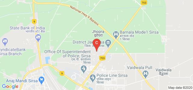 Jan Nayak Ch. Devi Lal Dental College,Sirsa, Barnala Rd, Housing Board Colony, Sirsa, Haryana, India