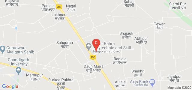 Rayat & Bahra Institute of Hotel Management, Mohali, Punjab, India
