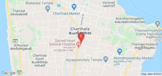 KVM College of Nursing, Maruthorvattom, Muttathiparambu, Cherthala, Alappuzha, Kerala, India