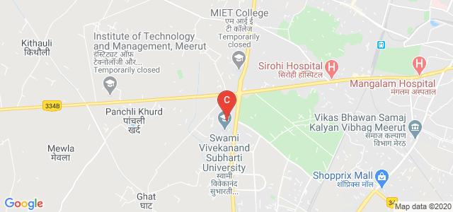 Bhikaji Cama Subharti Institute of Hotel Management , Meerut, Meerut Bypass Road, Meerut, Uttar Pradesh, India