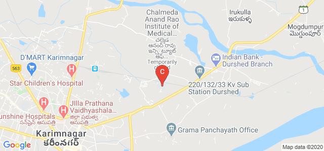 Chalmeda Anand Rao Institute of Medical Sciences, Bommakal, Karimnagar, Telangana, India