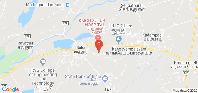 RVS college of Physiotherapy, Sulur, Tamil Nadu, India