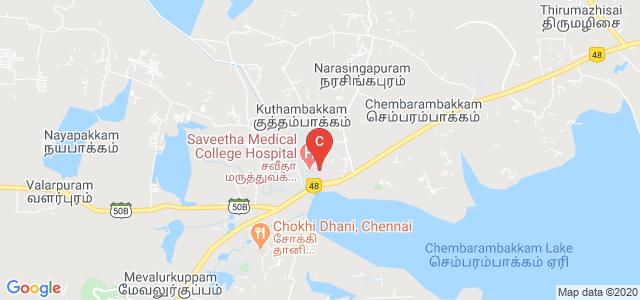 Saveetha College of Physiotherapy, Chennai, Tamil Nadu, India