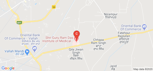 Sri Guru Ram Das College of Nursing, Qila Jiwan Singh, Punjab, India