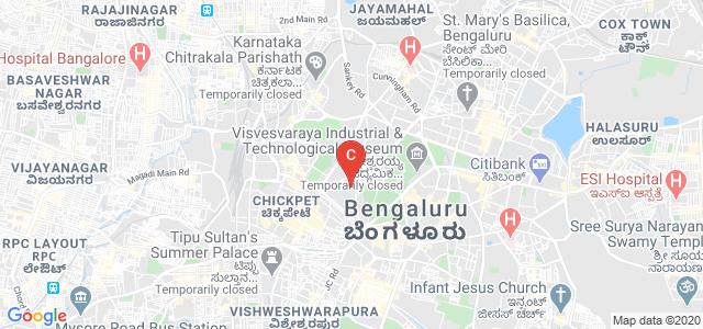 Government Science college, Nrupathunga Road, Sampangi Rama Nagar, Ambedkar Veedhi, Bangalore, Karnataka, India
