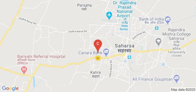 SNSRKS College Saharsa, Bihar, Bangaon Road, Refugee Colony, Naya Bazar, Saharsa, Bihar, India