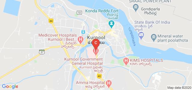 Kurnool Medical College, Bharath Petroleum, Kisan Ghat Road, Kurnool, Andhra Pradesh, India