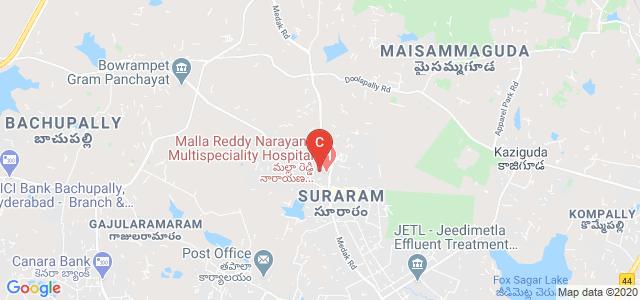 Mallareddy Medical College For Women, X Road, Venkatarama Colony, Quthbullapur, Hyderabad, Telangana, India