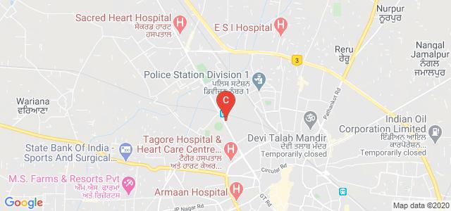 D.A.V. Institute of Physiotherapy & Rehabilitation, Mahatma Hans Raj Marg, Opposite Burlton Park, Gurdev Nagar, Ram Nagar, Jalandhar, Punjab, India