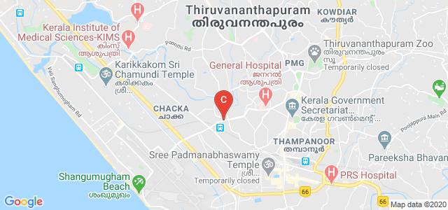 SI-MET, Palayam - Airport Road, Nallumuku, Kannammoola, Thiruvananthapuram, Kerala, India