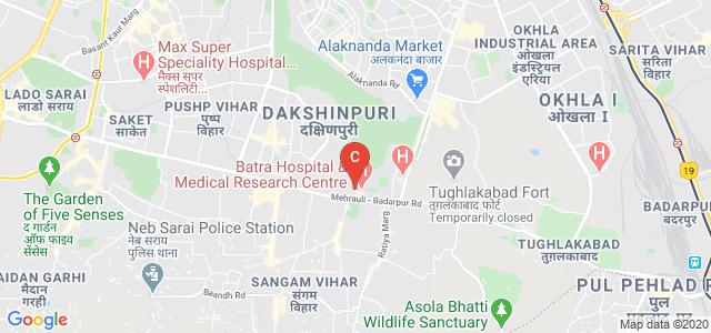 Laxmi Bai Batra College Of Nursing, Tughlakabad Institutional Area, Vayusenabad, New Delhi, Delhi, India