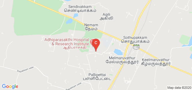Adhiparasakthi College of Nursing, Chennai, Tamil Nadu, India