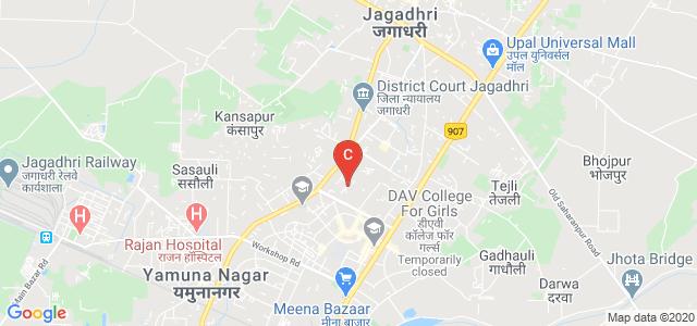 T.D.T.R.D.A.V. Institute of Physiotherapy & Rehabilitation, Professor Colony, Krishna Colony, Prem Colony, Yamuna Nagar, Haryana, India