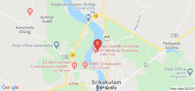 Rajiv Gandhi Institute Of Medical Sciences, Shanti Nagar Colony, Balaga, Srikakulam, Andhra Pradesh, India