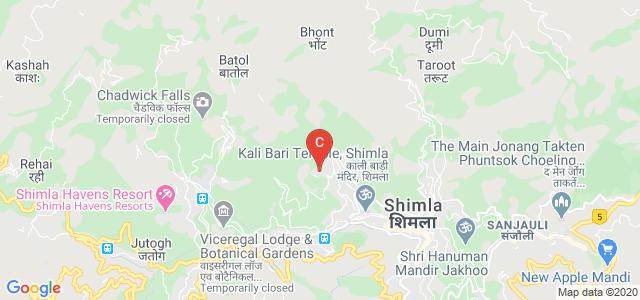 Shimla Nursing College, Shri Ram Mandir, Annadale Road, Annadale, Shimla, Himachal Pradesh, India