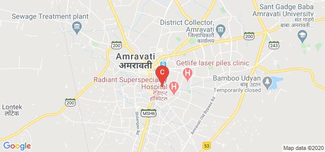 Mahila mahavidyalaya, Dastur Nagar Rd, Rajapeth, Vivekanand Colony, Amravati, Maharashtra, India