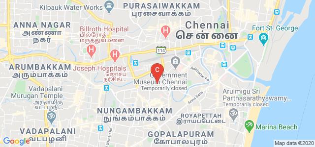 Sankara Nethralaya, College Road, Thousand Lights West, Nungambakkam, Chennai, Tamil Nadu, India