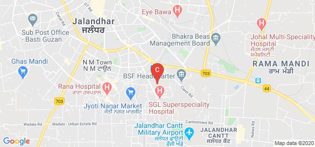 Punjab Institute of Medical Sciences, Jalandhar, Punjab, India