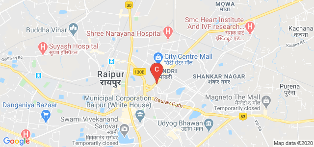 City Office, ITM University, Pandri, Raipur, Chhattisgarh, India