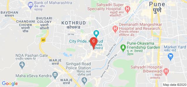 Pune Vidyapeeth Society, Karve Nagar, Pune, Maharashtra, India