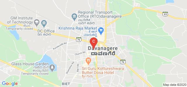 Bapuji Educational Association, Avenue Kamalamma Road, Prince Jayachamaraja Wodeyar, Davanagere, Karnataka, India