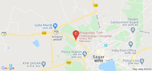 Bhagyoday Tirth Charitable Trust, Shastri Nagar, Sagar, Madhya Pradesh, India