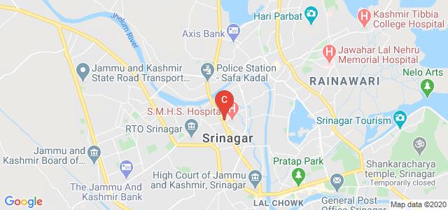 Bibi Halima Nursing College, SMHS Road, Shireen Bagh, Nawabazar, Srinagar