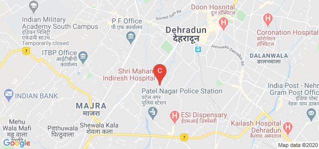 Shri Guru Ram Rai Institute of Medical & Health Sciences, Chamanpuri, Patel Nagar, Dehradun, Uttarakhand, India