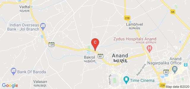 VINAYAKA INSTITUTE OF NURSING, Bakrol Vadtal Rd, Vallabh Vidyanagar, Bakrol, Gujarat, India