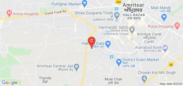 C.K.D. International Nursing College, Chabal Road, Gurbax Nagar, Nawan Kot, Amritsar, Punjab, India