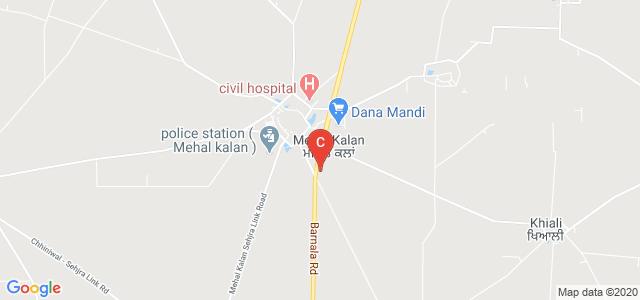 Malwa College of Nursing, Mehal Kalan, Mehal Kalan, Barnala, Punjab, India