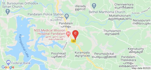 Chitra College of Nursing, State Highway 1, Kadakkadu, Pandalam, Pathanamthitta, Kerala, India