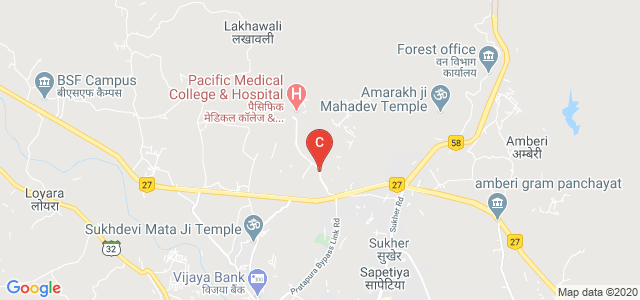 Pacific Medical College & Hospital Road, Bedla, Udaipur, Rajasthan, India