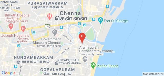 Government Medical College Omandurar Government Estate, Wallajah Road, Police Quarters, Triplicane, Chennai, Tamil Nadu, India