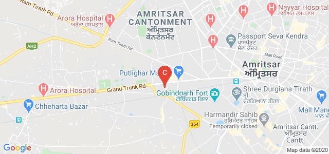 Khalsa College Of Nursing, G.T. Road, Opp. Kabir Park, Near Guru Nanak Dev University, Chheharta, Guru Arjun Nagar, Putligarh, Amritsar, Punjab, India