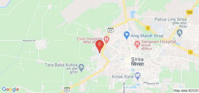 Govt Polytechnic For Women, Sirsa Rania Rd, Shamshabad Patti, Sirsa, Haryana, India