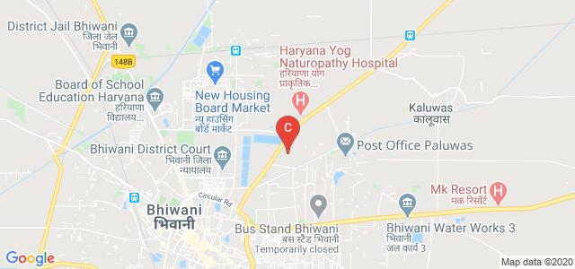 Meham Rd, Vidya Nagar, Bhiwani, Haryana 127021, India