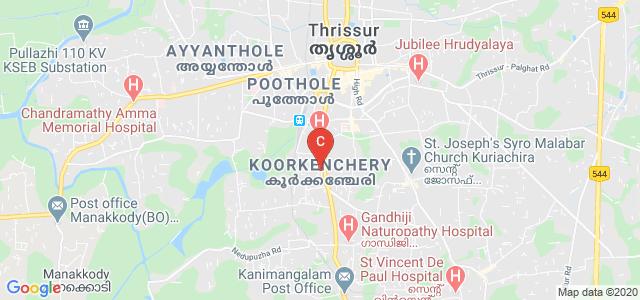 ELITE COLLEGE OF ELITE COLLEGE OF NURSING, P.O, Koorkenchery, Thrissur, Kerala, India