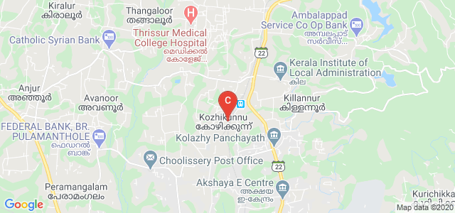 Pottore, Killannur, Thrissur, Kerala 680581, India