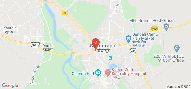 Government Medical College, Chandrapur, Civil Lines, Chandrapur, Maharashtra, India