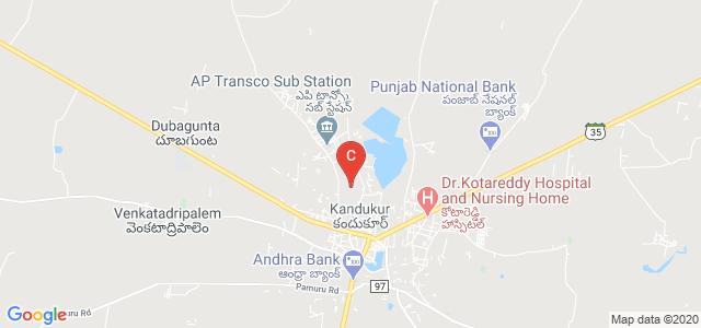 T.R.R.Government Degree College,Kandukur, Santhosh Nagar, Kandukur, Andhra Pradesh, India