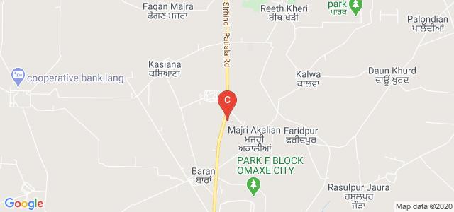Luxmi Bai Institute of Dental Sciences and Hospital, Sirhind Road, Patiala, Punjab, India